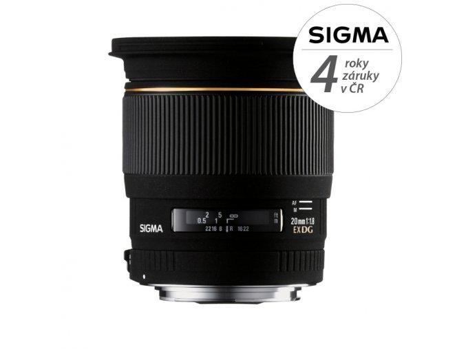 Sigma 20mm f1,8 EX DG ASPHERICAL RF
