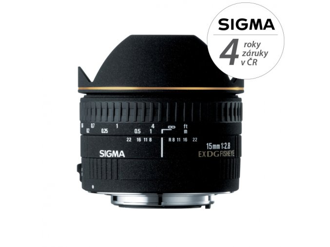 Sigma 15mm f2,8 EX DG Diagonal Fisheye