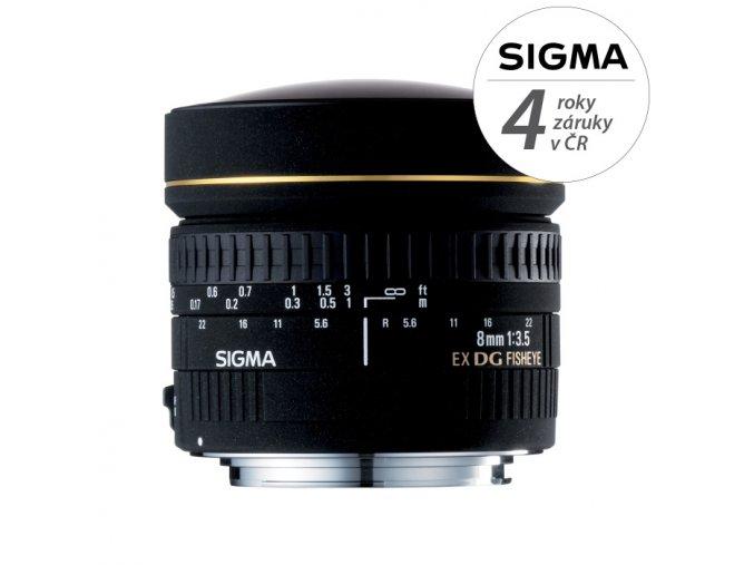Sigma 8mm f3,5 EX DG Circular Fisheye