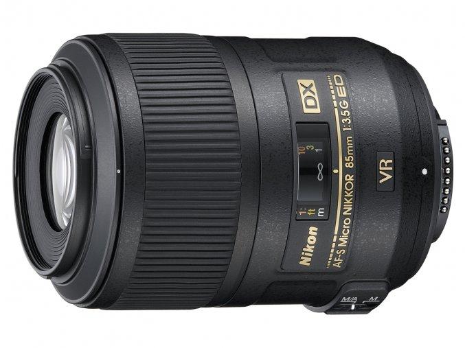 Nikon AF-S DX VR Micro Nikkor 85mm f3.5G ED - zpětný bonus 1.250,-Kč