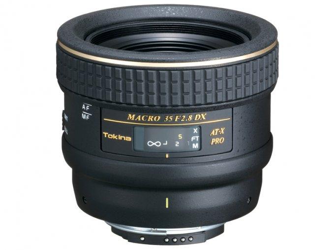 Tokina AT-X M35 PRO DX, AF Tokina 35mm f2,8 - NOVINKA
