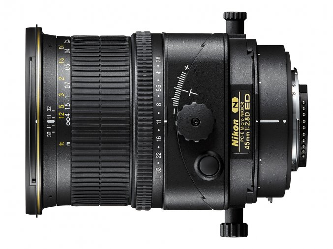 Nikon PC-E Micro-Nikkor 45mm f2,8D ED