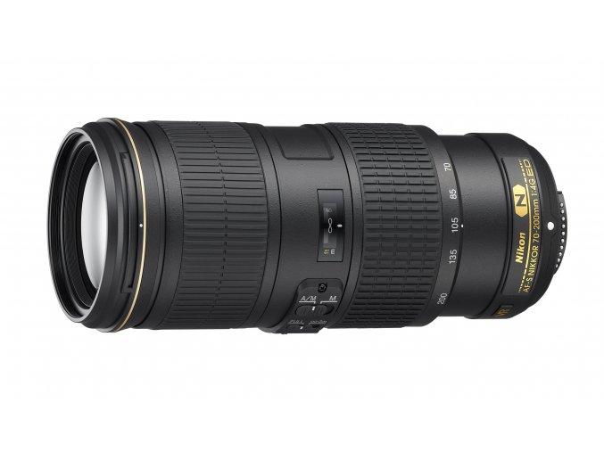 Nikon AF-S VR Nikkor 70-200mm f4G ED - zpětný bonus 2.500,-kč