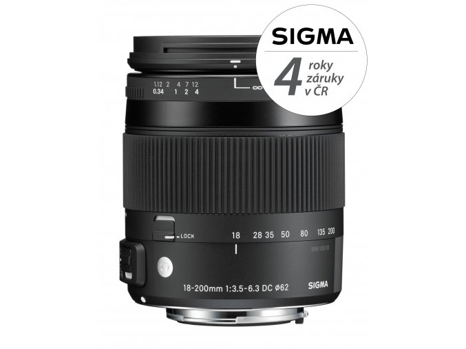 Sigma 18-200mm f3,5-6,3 DC Macro OS HSM Contemporary