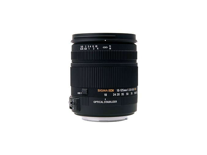 Sigma 18-125mm f3,8-5,6 DC OS HSM