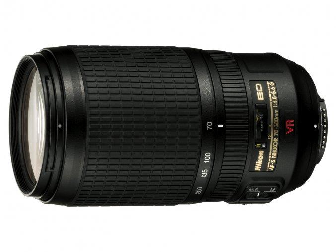 Nikon AF-S VR Nikkor 70-300mm f4,5-5,6G IF-ED - archív