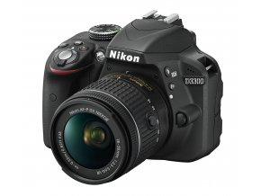 Nikon D3300 tělo + AF-P 18-55mm VR