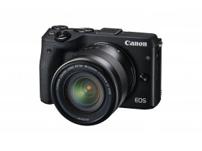 Canon EOS M3 + EF-M 15-45mm STM - zpětný bonus 1.300,-Kč