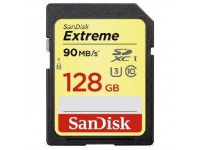 SanDisk 128GB SDXC Extreme 90MB/s