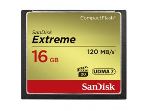 SanDisk 16GB CF Extreme 120MB/s