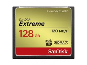 SanDisk 128GB CF Extreme 120MB/s