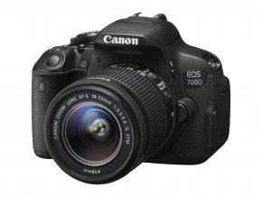 Canon EOS 700D + 18-55mm IS STM + 55-250mm IS