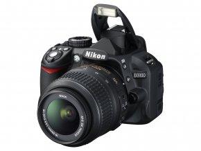 Nikon D3100 tělo + 18-55mm VR - archív
