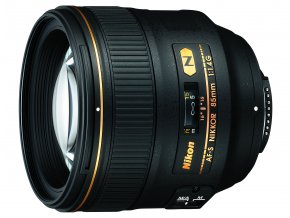 Nikon AF-S Nikkor 85mm f1,4G - zpětný bonus 2.700,-Kč