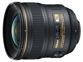 Nikon AF-S Nikkor 24mm f1.4G ED - zpětný bonus 2.700,-Kč