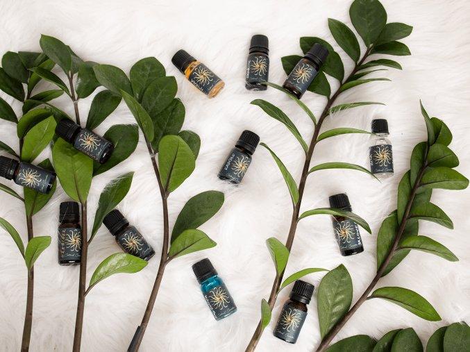 olejíčky v listech