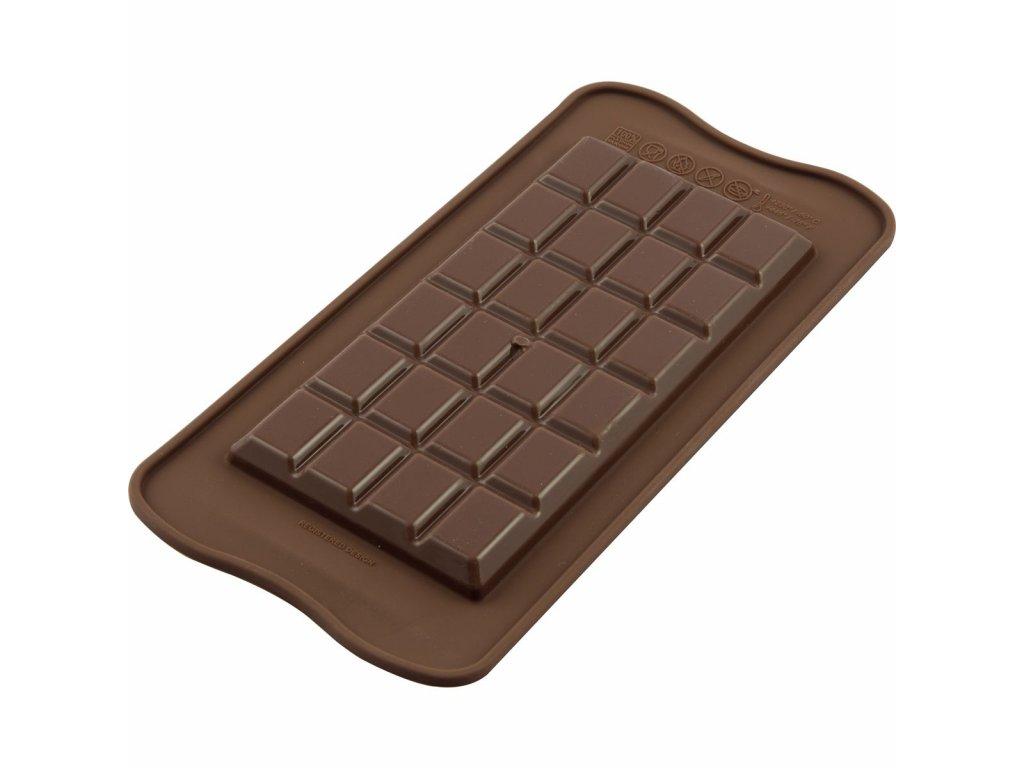 silikónová forma na výrobu čokolády