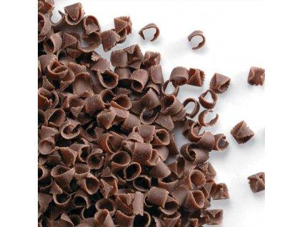 mliečne čokoládové hoblinky