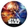 231269 DISCO COMESTIBLE TARTA STAR WARS 20CM FOIL 3