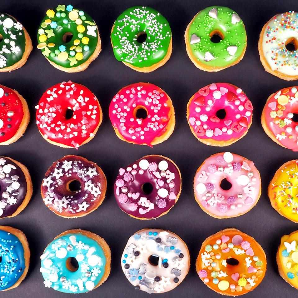Donuty s Cukrovou Polevou