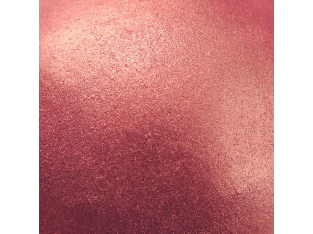 ružová jedlá farba