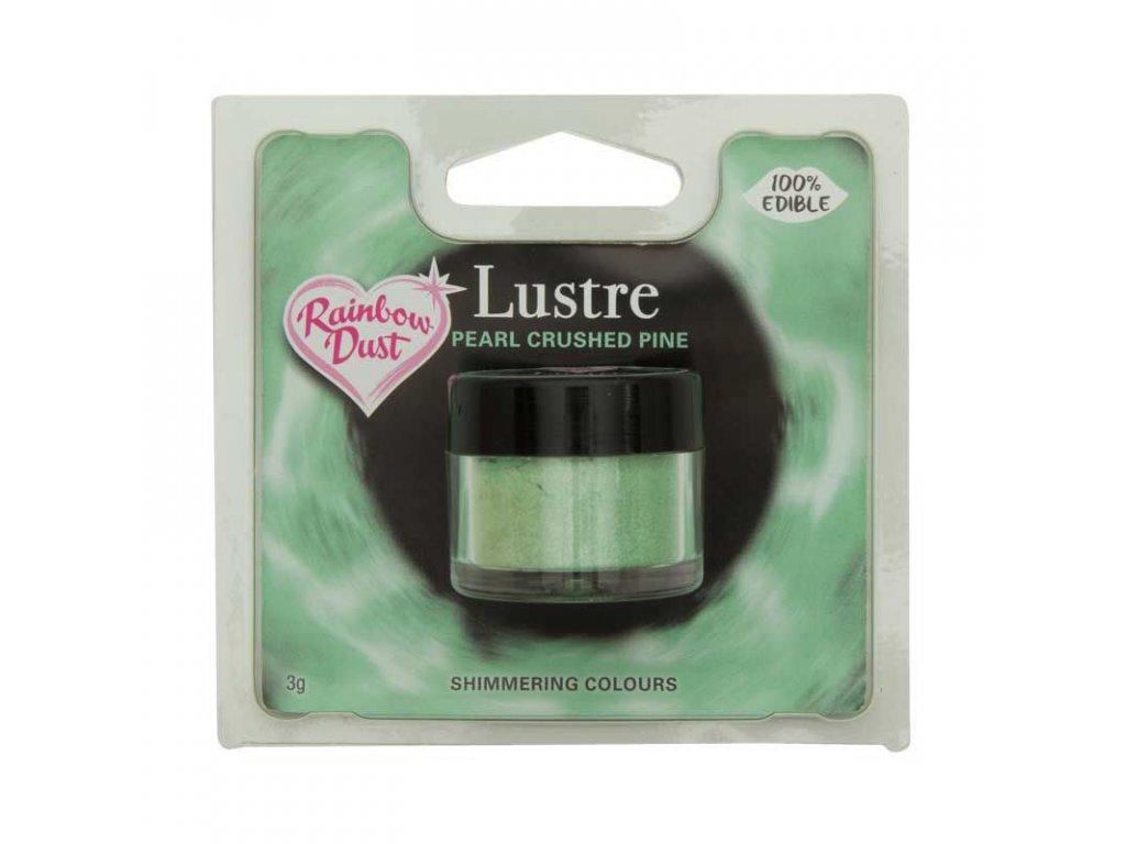 zelená jedlá farba