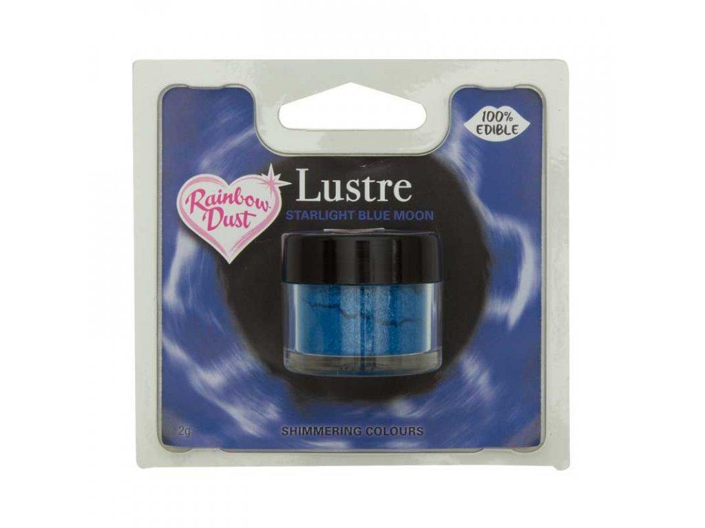 modrá prachová jedlá farba