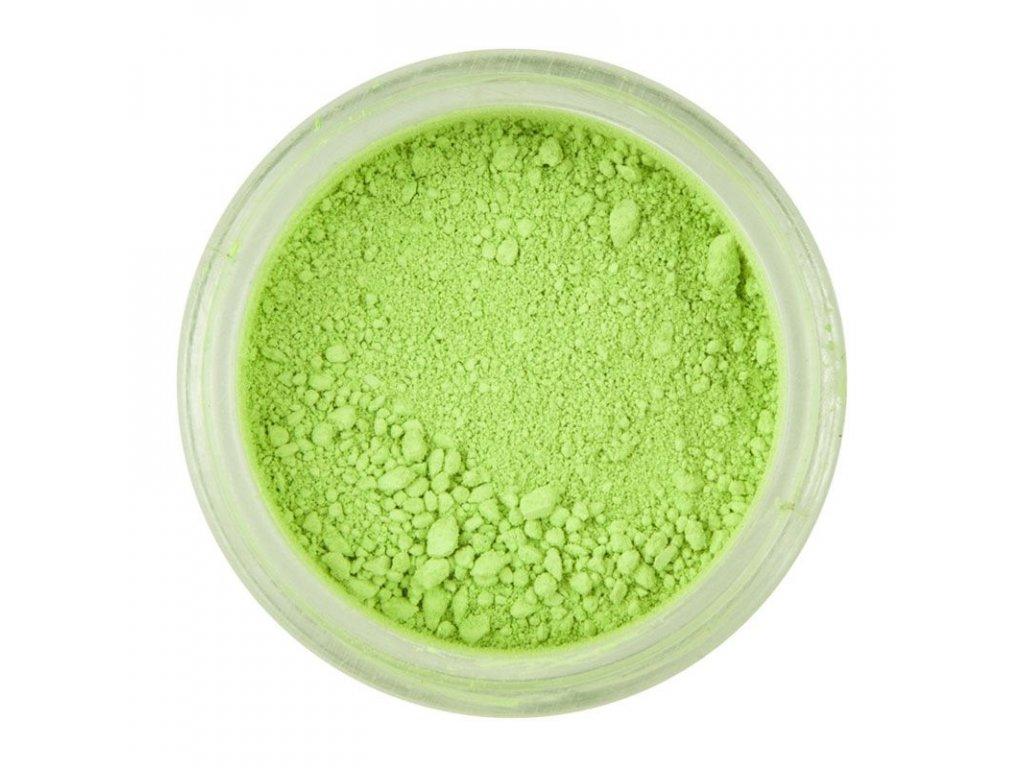 zelená farba jedlá