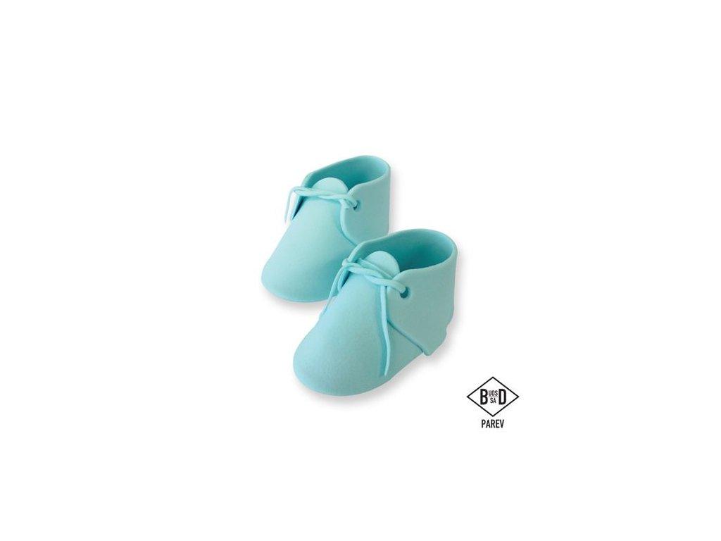 jedlá dekorácia topánky