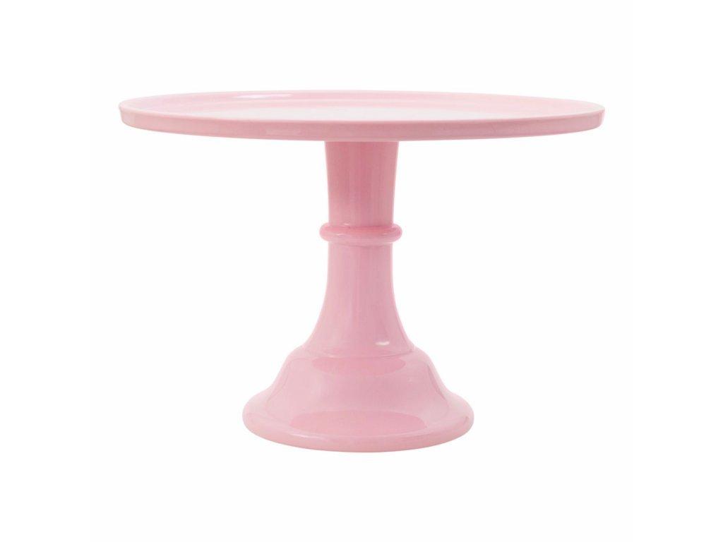 stojan na tortu ružový