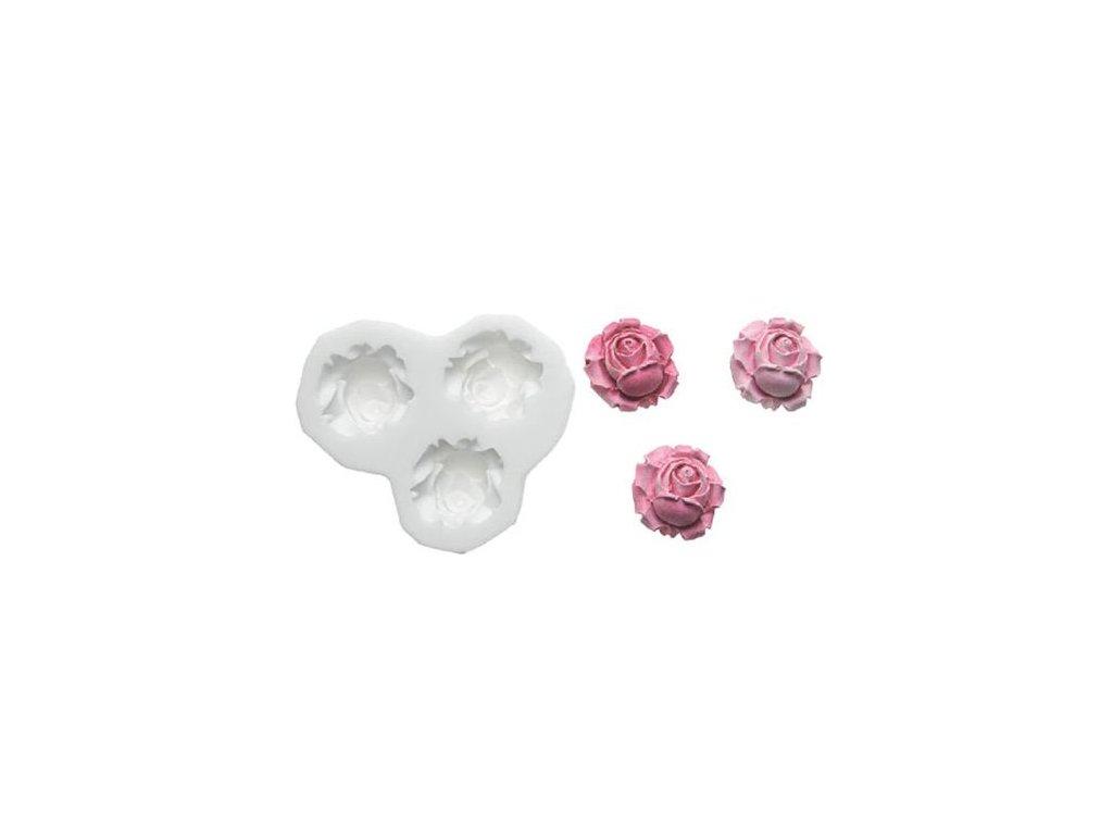 marcipánové ružičky forma