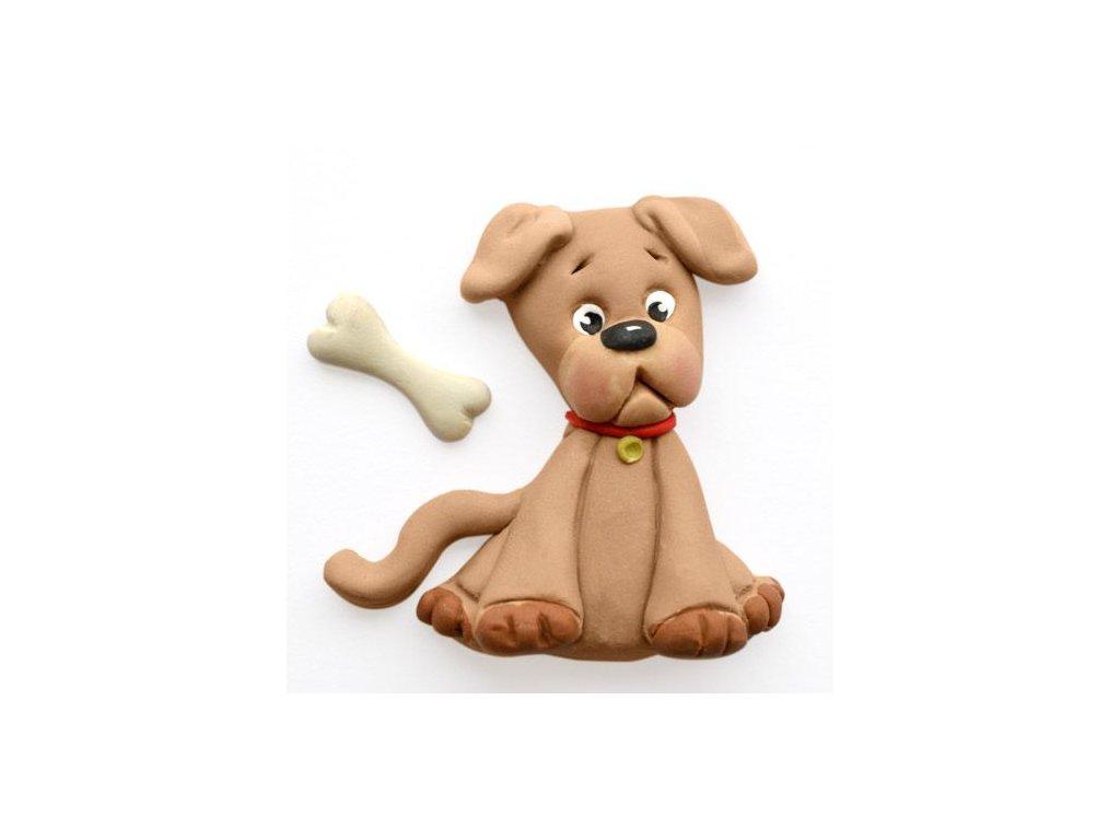 formička na modelovanie fondánom pes