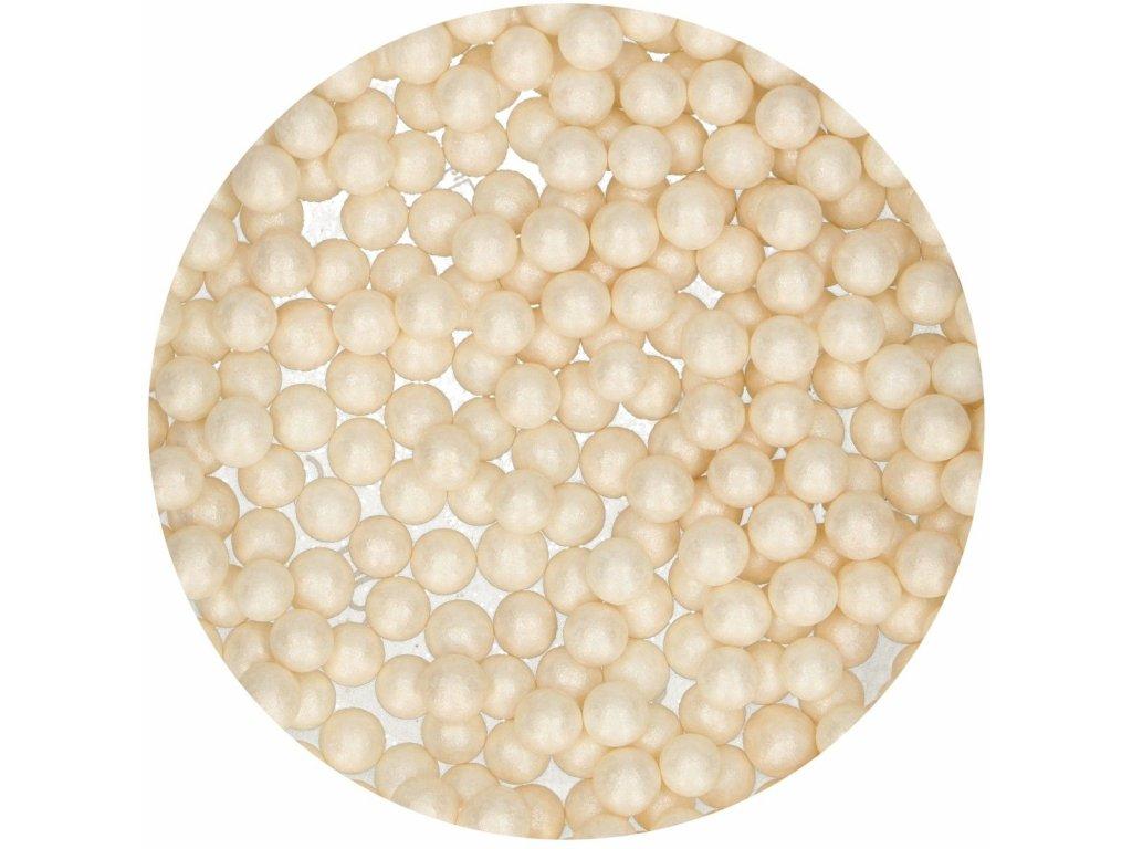 cukrové guličky biele