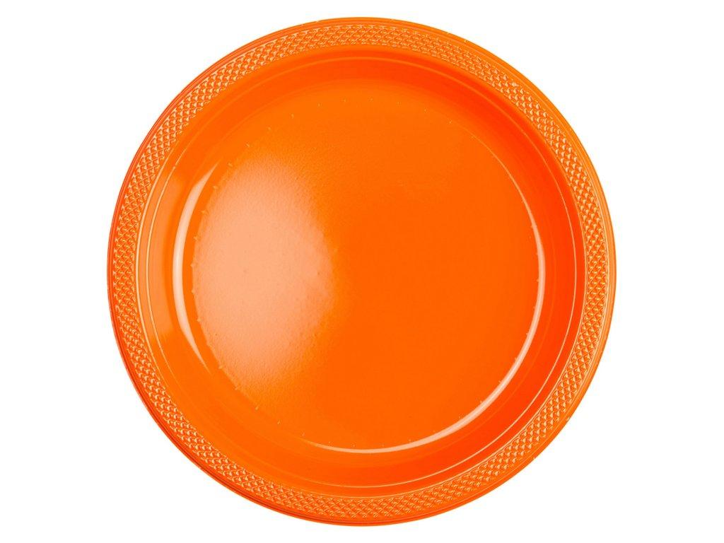 39020 plastove taniere oranzove 10 ks