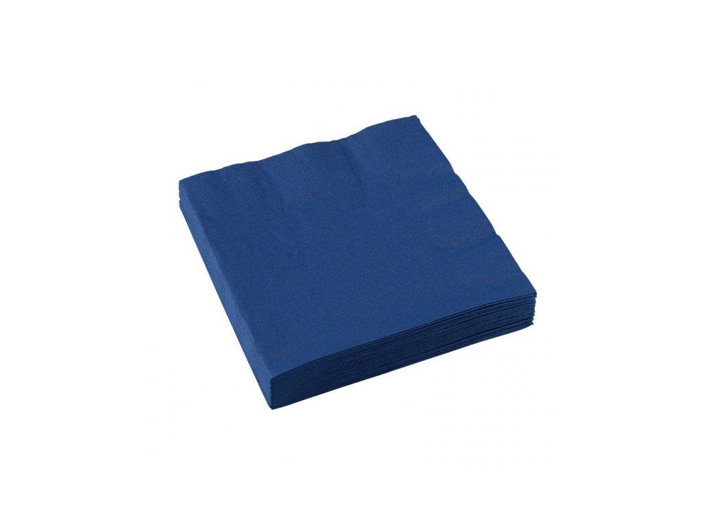 Servítky námornícka modrá 20 ks