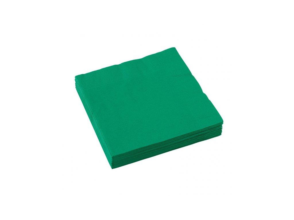 Servítky - Zelená 33x33 cm