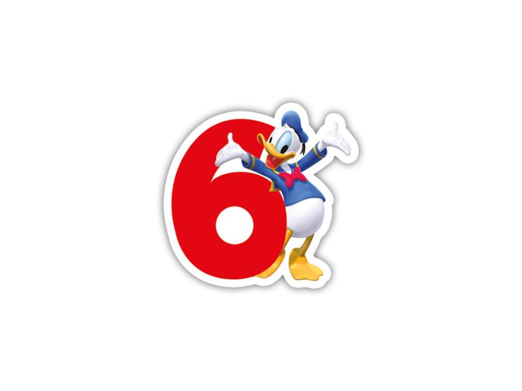 Narodeninova sviecka Mickey Mouse 6