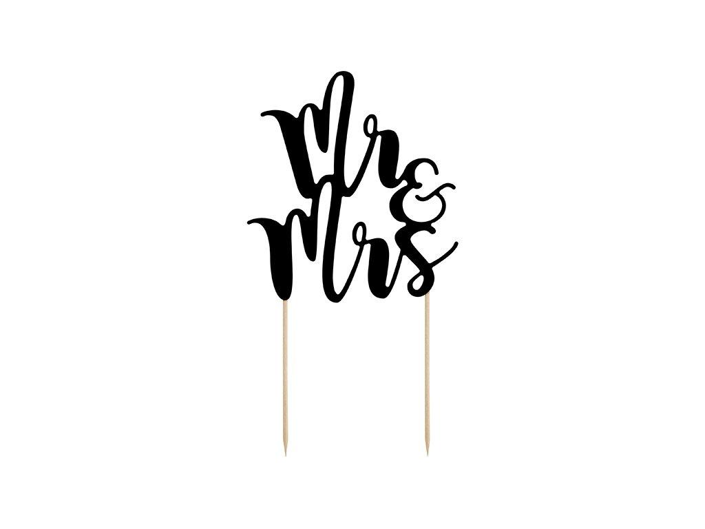 Ozdoby na toru Mrs a Mr