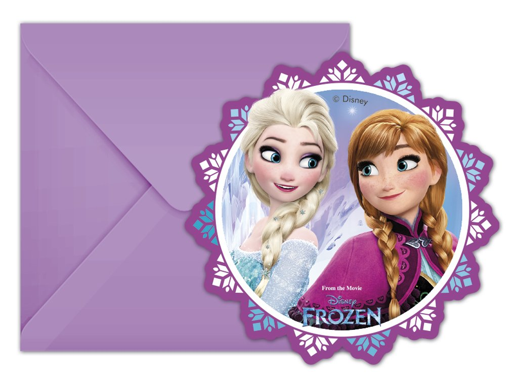 FROZEN NORTHERN LIGHTS DIE CUT INVITATION ICON