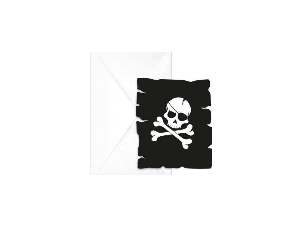 Pozvanky cierni pirati