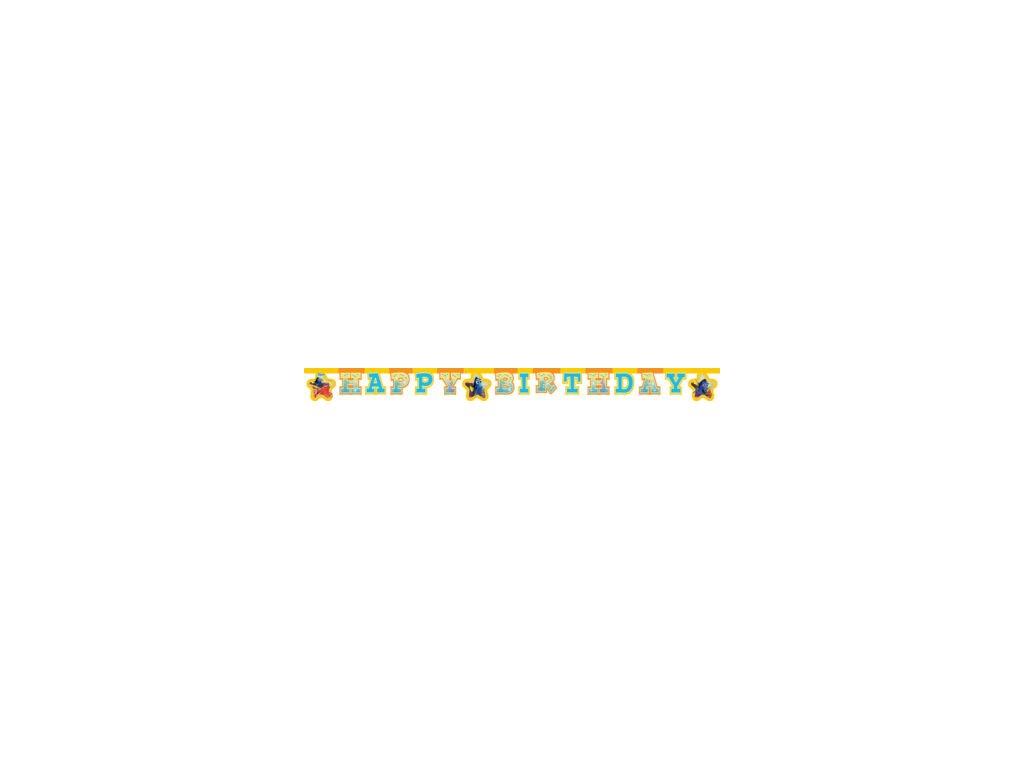 Banner Happy Birthaday Hľadá sa Dory