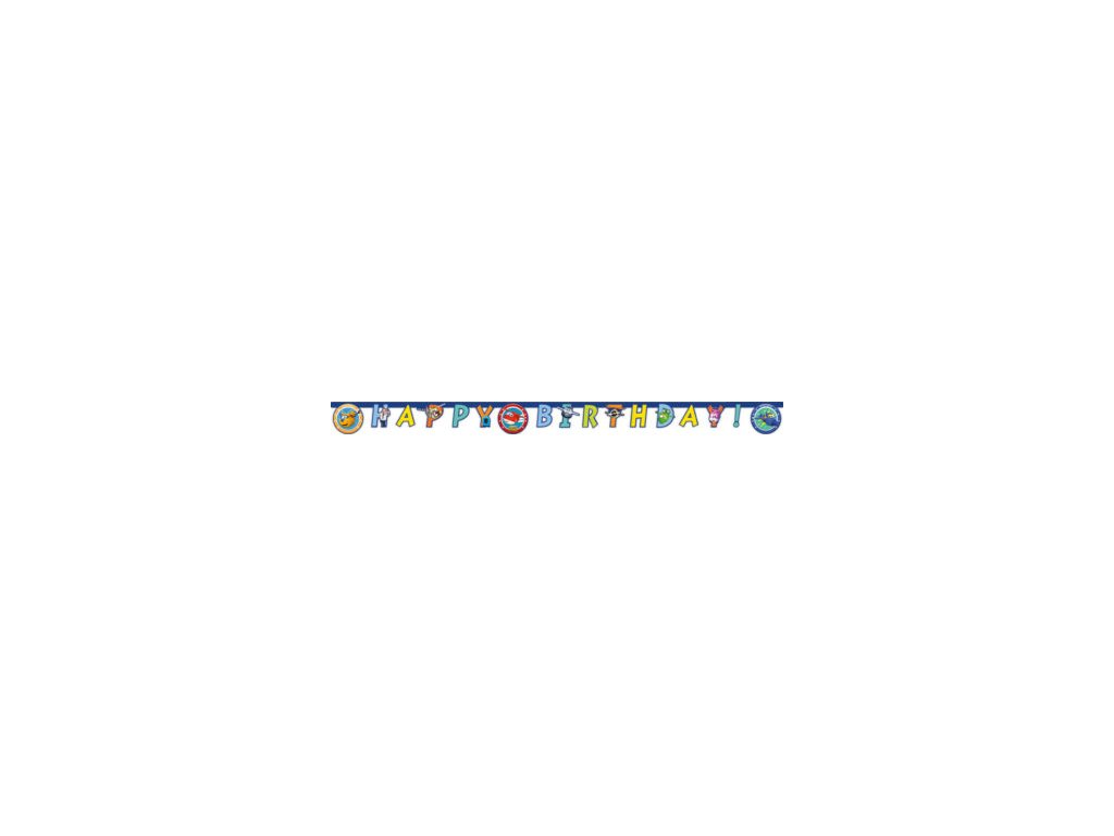 Banner Happy birthday Super wings