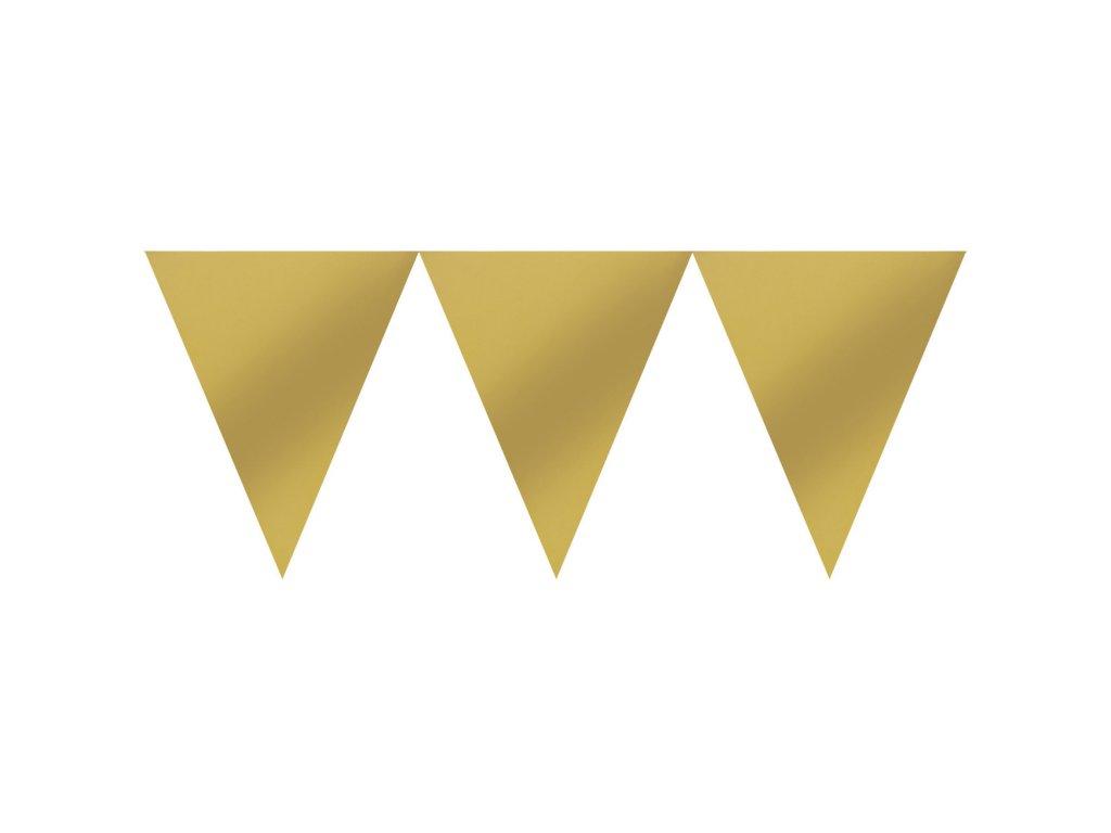 33827 banner zlaty 450 cm