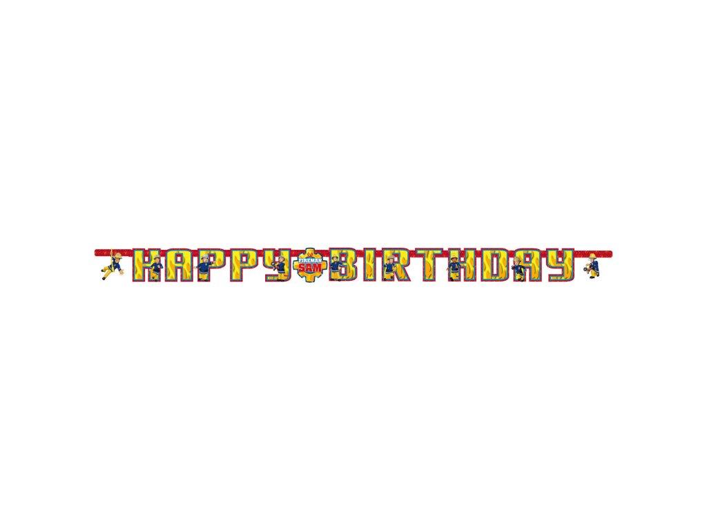39566 banner poziarnik sam 180 x 15 cm