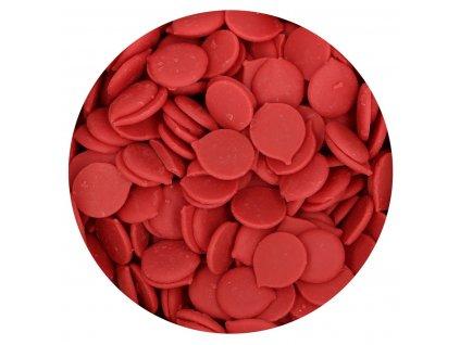 červená čokoládová poleva