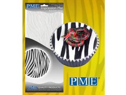 odtláčacia folia podložka vzor zebra