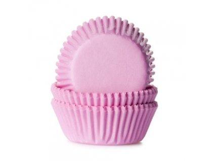 ružové košíčky na muffiny