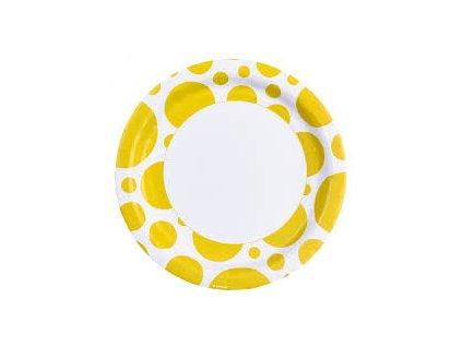 Taniere žlté bodkované