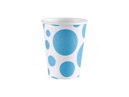 Pohár modrý bodkovaný
