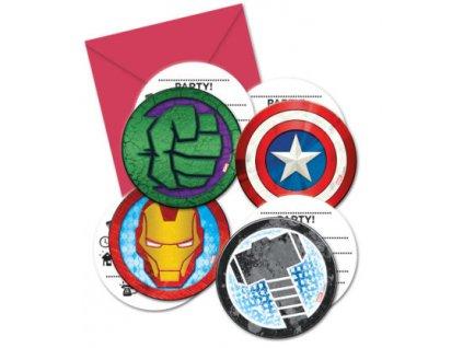 Pozvanky Avengers